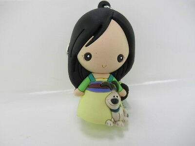 Disney Princesses Figural Keyring Series 9 3 Inch Mulan open with BAG NEW
