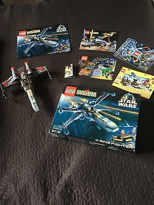 Lego Star Wars X Wing Fighter Set 7140 No Instructions 3