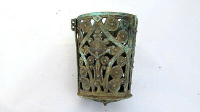 Authentic  Orthodox Hanging bronze/brass Oil Candle holder Lamp Byzantine