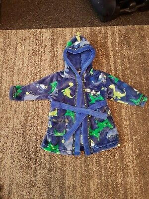 Baby Boys 6-9 Months Disney Mickey Mouse Dressing Gown