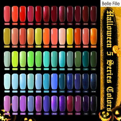 BELLE FILLE Gel Halloween Party UV LED Gel Nail Art Soak Off Polish Nail Varnish