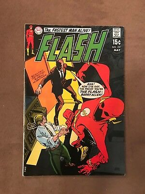 DC Comics - The Fastest Man Alive! Flash - VG/G Condition - May 1970 No. 197
