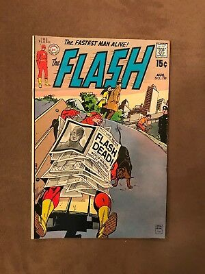 DC Comics - The Fastest Man Alive! Flash - VG/G Condition - Aug 1970 No. 199