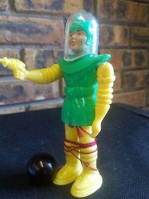 Vintage spaceman pull along 60's robot