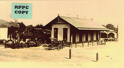 "P&R ""Reading"" (Pickering Valley) Railroad Depot at Kimberton, Chester Co., PA"