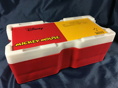 2017 Mickey Mouse Disney Silver Mini Monster Box  – Empty, No Coins or Tubes