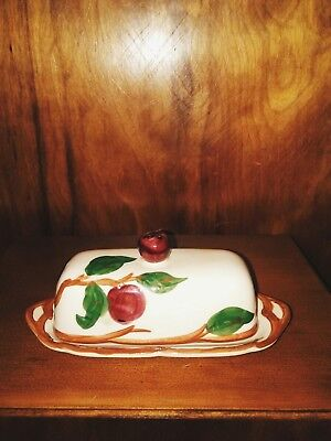 Franciscan Apple Butter Dish with lid, very nice conditon