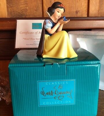 WDCC Disney Classic Collection Snow White Includes Original Box & COA New!!