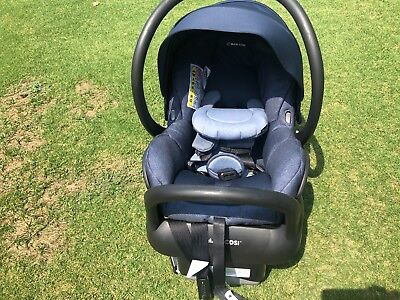 Maxi-Cosi Mico Max 30 Infant Car Seat, Nomad Blue - Special Edition