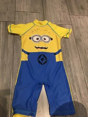 Boys NEXT Despicable Me Swimsuit/all In One Swimwear, Age 4-5