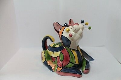 """Amy Lacombe Whimsiclay """"Stained Glass"""" 2003, #86004"""