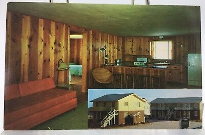 Multi View~ Postcard~ The Olympic Apartments 40th Street ,Ocean City ,Maryland