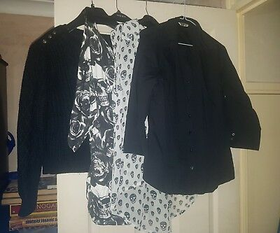 bundle of 4 x women's tops sz12 AAA007