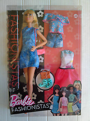 finest selection popular stores release date: MATTEL BARBIE FASHIONISTAS 43 Lacey Blue Doll & Fashions ...