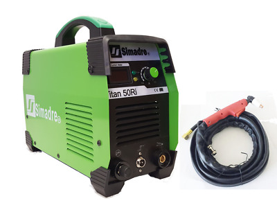 "Plasma Cutter Simadre 50Ri IGBT 50 Amp Handle-Style Torch 110/220V 1/2"" Cut"