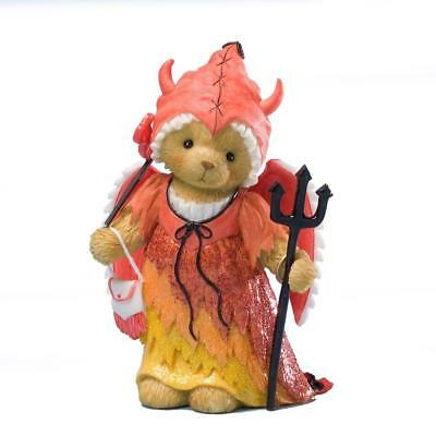 Enesco 4025778 Cherished Teddies Collection Dressed As Devil Figurine