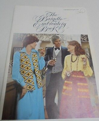 The Bargello Embroidery Book 28 Patterns Embroidery Book- Coats # 1214