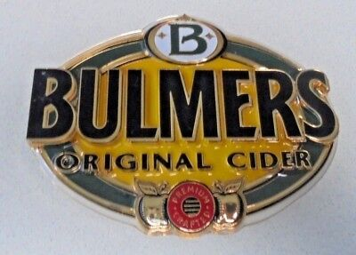 Bulmers Original Cider Beer Tap Badge - with Backing Screw -Oval in Size