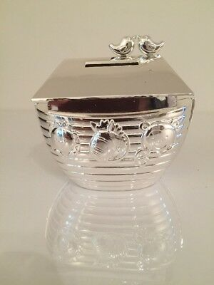 John Lewis Baby  NOAH/'S Noah ARC Silver Plated MONEY BOX