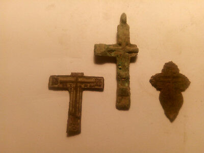 Metal detector finds. Ancient finds, ancient cross N20