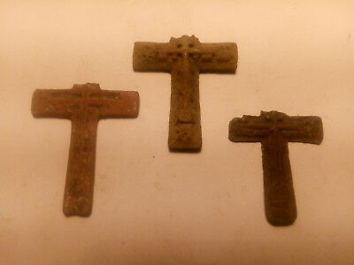 Metal detector finds. Ancient finds, ancient cross N19