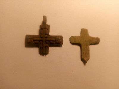 Metal detector finds. Ancient finds, ancient cross N3