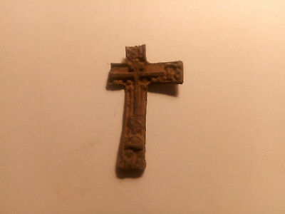 Metal detector finds. Ancient finds, ancient cross N2