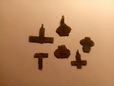 Metal detector finds. Ancient finds, ancient cross N8