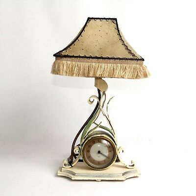 Vintage Smiths Sectric Electric Clock Table Lamp c.1940
