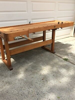 1960-1970 Master Cabinet Makers Workbench