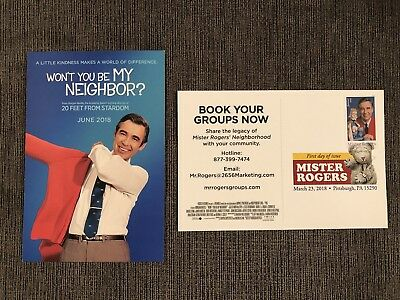 Sc 5274 Mister Rogers Stamp FDC & Movie Premiere - Won't You Be My Neighbor?