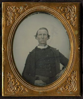 1860's Identified Forest, Mississippi Minister Preacher - Moved To Texas 1882