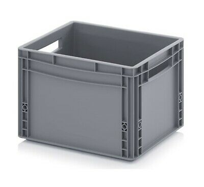 Euro Containers 40x30x27 26l Stacking Storage Box Eurobox Stackable 400x300x270