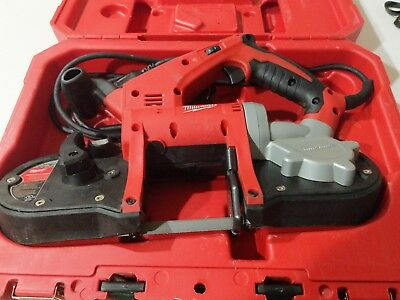 Milwaukee 6242-6 Compact Corded Band Saw W/Case