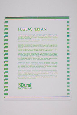 "DURST REGLAS 139 AN for 13 x 18 cm / 5 x 7"" negative format – DURST LABORATOR"