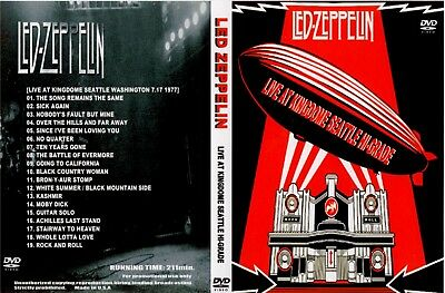 Led Zeppelin / LIVE AT KINGDOME SEATTLE 1977  1xDVD 211min