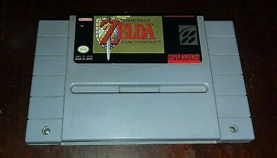 The Legend of Zelda: A Link To The Past (Super Nintendo, SNES) Tested