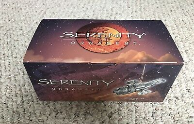 Darkhorse Serenity/Firefly Limited Edition Ornament, Brand New, Mint in Box