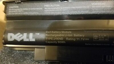 New Genuine DELL Battery J1KND 9c DOUBLE SIZE for Dell Inspiron N501 90Wh 11.1v