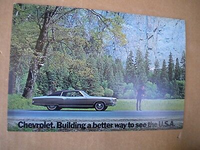 1972 Chevrolet Monte Carlo Car Dealers Post Card