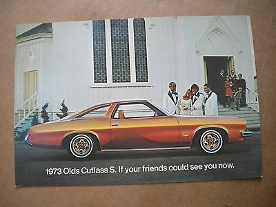 1973 Oldsmobile Car Dealers  Post Card