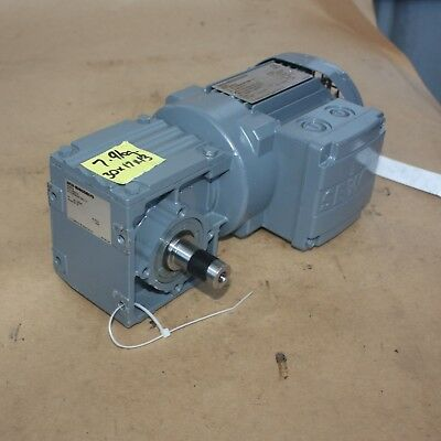SEW Eurodrive W30 DR63L4 electric motor gearbox 19.5:1 0.25kW 3 PHASE - NEW