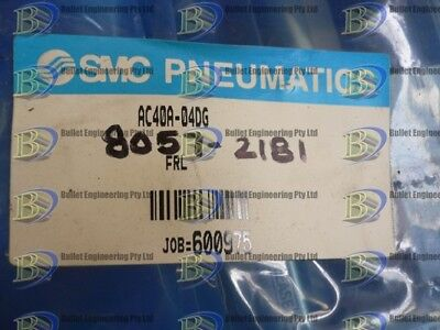 Smc Pneumatic Ac40A-04G (Aw40-D4Dh Filter Regulator+ Smc Al 40-04 Lubricator)