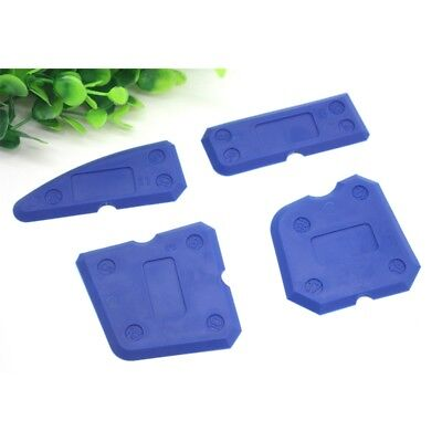 4 pcs Silicone Sealant Spreader Profile Applicator Tile Grout Tool Home Help #4V