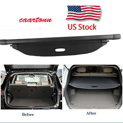 For Kia Sportage 2017 2018 2019 Trunk Cargo Cover Luggage Security Shade Shield