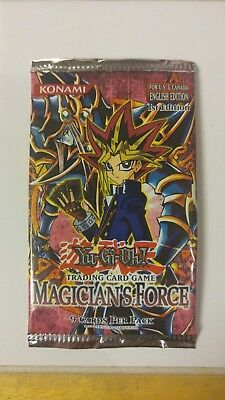 Yu-Gi-Oh! 1st Edition Magician's Force Sealed Booster Pack x1