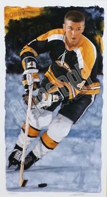 Bobby Orr Boston Bruins Limited Edition Print Art Lithograph Glen Green