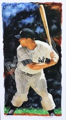 Mickey Mantle New York Yankees Limited Edition Print Art Lithograph Glen Green