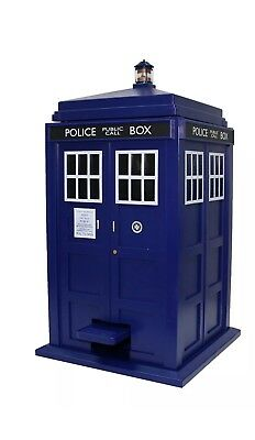 Doctor Who Talking Trash Bin Garbage Can TARDIS
