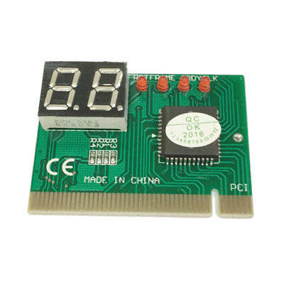 PCI PC Diagnostic 2-Digit Card Motherboard Post Tester Analyzer Checker Laptop A
